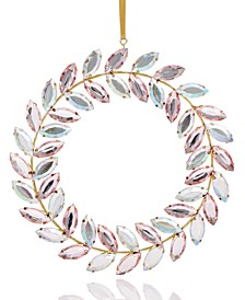 Shimmer and Light Jewel Wreath Ornament Created for Macy's