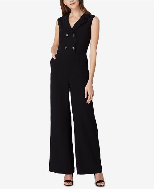 1e9d61c95a4a Tahari ASL Double-Breasted Jumpsuit