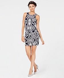 Juniors' Glitter Bodycon Tank Dress, Created for Macy's