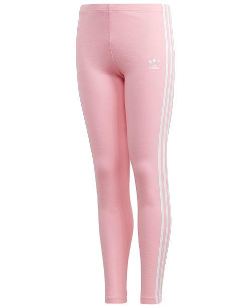 7a0f9f1ab5d51 adidas Big Girls 3-Stripe Leggings & Reviews - Leggings & Pants ...