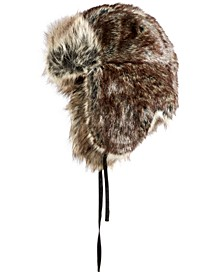 Men's Faux-Fur Trapper Hat, Created For Macy's