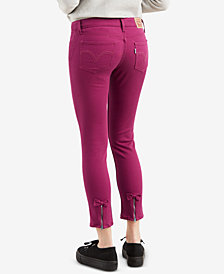Levi's® 535™ Skinny Ankle with Bow Jeans
