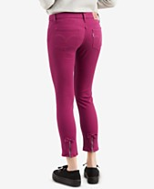 32da6ddbf7625 Levi s® 535™ Skinny Ankle with Bow Jeans