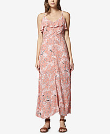 Sanctuary Isabella Printed Flounce Maxi Dress