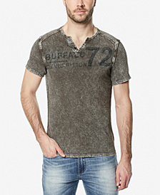 Buffalo David Bitton Men's Narwayne Henley T-Shirt
