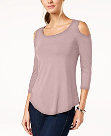 Cold-Shoulder Top, Created for Macy's