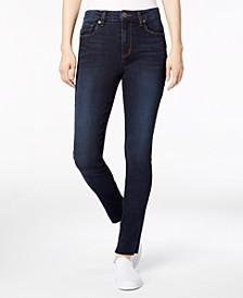 Ellie Raw-Hem Skinny Jeans