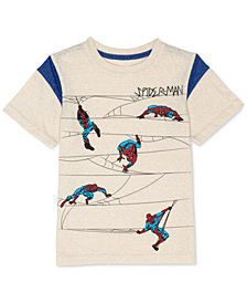 Marvel® Little Boys Spider-Man Graphic-Print T-Shirt