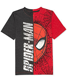 Marvel® Big Boys Spider-Man Graphic-Print T-Shirt