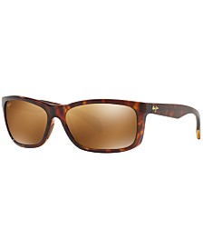 Maui Jim Polarized Sunglasses , 785 PUHI 59