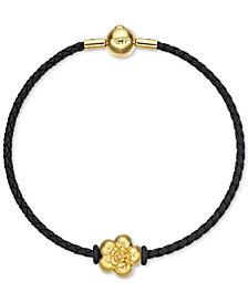 Chow Tai Fook Flower Braided Bracelet in 24k Gold