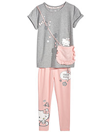 Hello Kitty Toddler Girls 2-Pc. Purse T-Shirt & Leggings Set