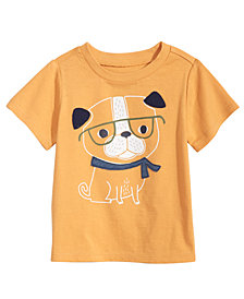 First Impressions Toddler Boys Dog Graphic Cotton T-Shirt, Created for Macy's