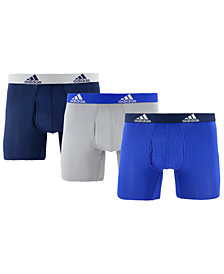 adidas Men's 3-Pk. ClimaLite® Boxer Briefs