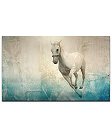 Ready2HangArt 'Equestrian Saddle Ink PSVIII' Canvas Wall Decor