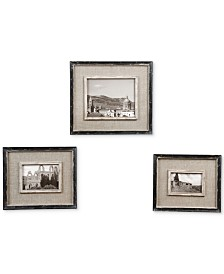 Uttermost Kalidas Cloth Lined Photo Frames, Set of 3