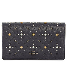 COACH Foldover Mini Crossbody