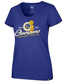 '47 Brand Women's Golden State Warriors Champ Trophy T-Shirt