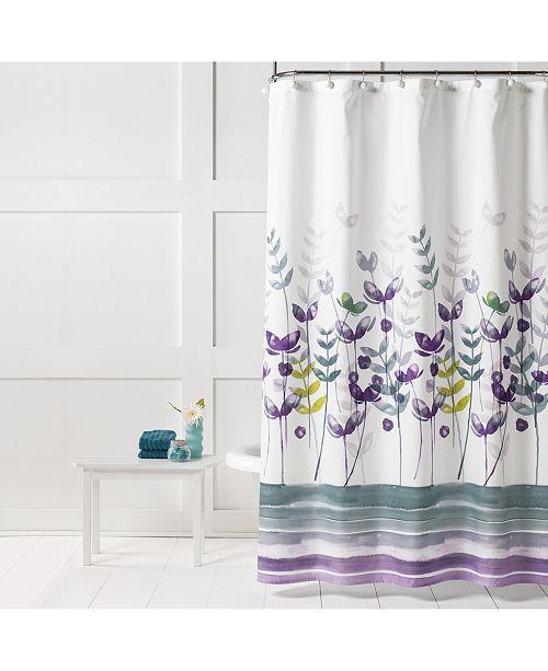 Saturday Knight Ltd. Watercolor Meadows Shower Curtain