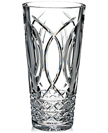 "Waterford Master Craft Collection Waves of Tramore Annual 10"" Vase"