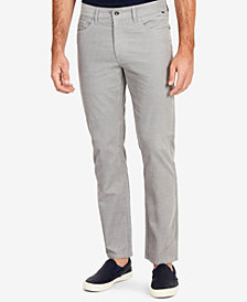 Nautica Men's Corduroy 5-Pocket Straight Fit Pants