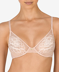Natori Flora Women's Unlined Sheer Lace Bra 724150