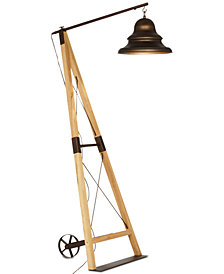 CLOSEOUT! Pacific Coast Industrial Bell Floor Lamp