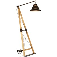Pacific Coast Industrial Bell Floor Lamp Deals