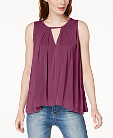 Lucky Brand Keyhole Tank Top