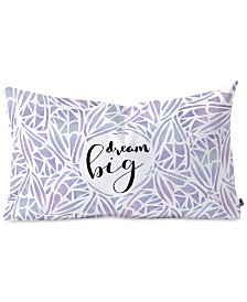 Deny Designs Hello Sayang Dream Big Butterfly Oblong Throw Pillow