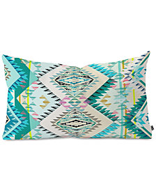 Deny Designs State Marker Southern Moon Oblong Throw Pillow