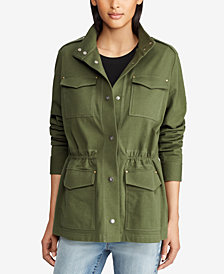 Lauren Ralph Lauren Petite Cotton Jacket