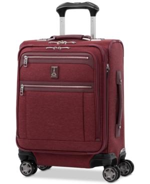 Travelpro Platinum Elite International Softside Carry-on Spinner In Bordeaux