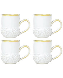 Lenox-Wainwright Boho Earth 4-Pc. Mug Set, Created for Macy's