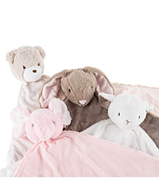 Baby Security Blanket Stuffed Animal Collection by Happy Trails