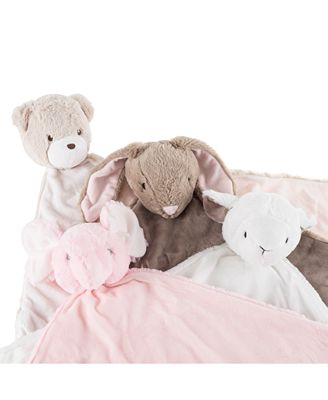 Trademark Global Baby Security Blanket Stuffed Animal Collection By