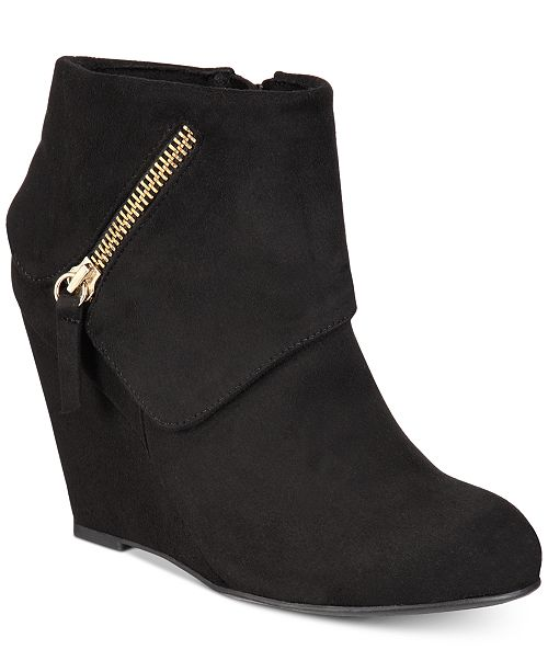 ZIGIny Rebel by Zigi Women s Ksenia Wedge Booties - Boots - Shoes ... fe4cdf1eb