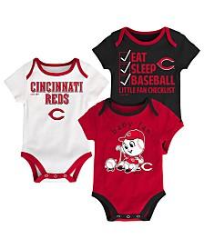 Outerstuff Cincinnati Reds Play Ball 3-Piece Set, Infants (0-9 Months)