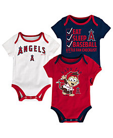 Outerstuff Los Angeles Angels Play Ball 3-Piece Set, Infants (0-9 Months)