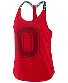 Nike Women's Ohio State Buckeyes Elastika Tank