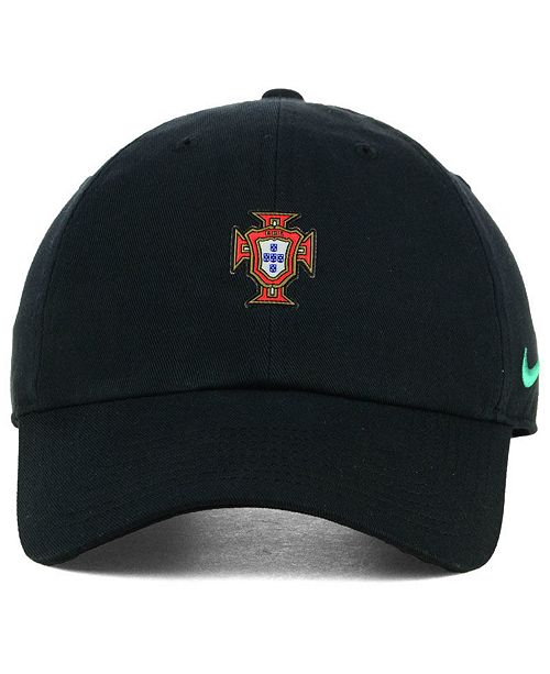 67e8b661ed8 ... official nike portugal national team core cap sports fan shop by lids  men macys 587c9 1f517