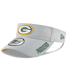 New Era Green Bay Packers Training Visor