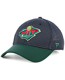Authentic NHL Headwear Minnesota Wild Spring Flex Stretch Fitted Cap