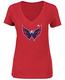 Women's Washington Capitals Primary Logo T-Shirt