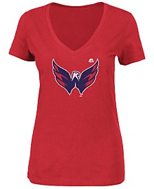 Majestic Women's Washington Capitals Primary Logo T-Shirt