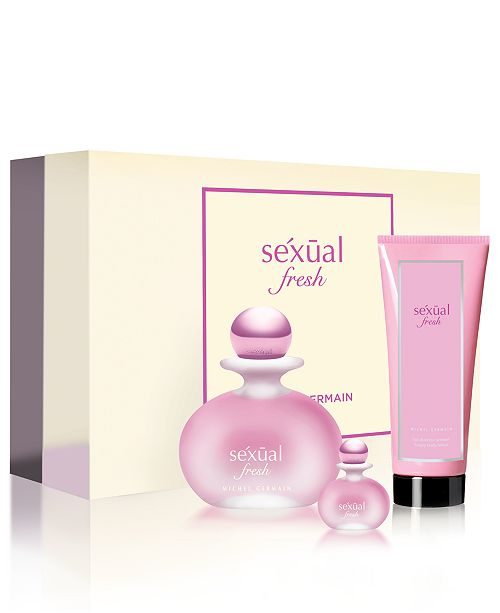Michel Germain 3-Pc. Sexual Fresh Eau de Parfum Gift Set