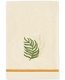 Tommy Bahama Palmiers Cotton Embroidered Fingertip Towel