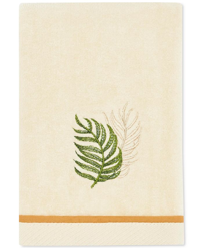 Tommy Bahama Home - Palmiers Cotton Embroidered Fingertip Towel