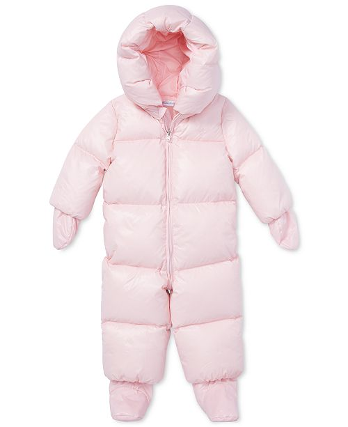 8839fc1eac12 Polo Ralph Lauren Ralph Lauren Baby Girls Quilted Snowsuit   Reviews ...