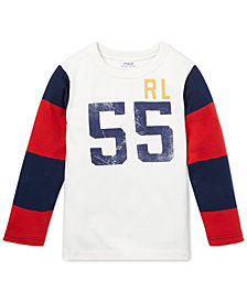 Polo Ralph Lauren Little Boys Cotton Jersey Graphic T-Shirt